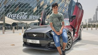 We Modified My Dream Car In Dubai- Deadpool Mustang