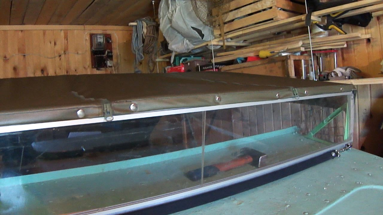 Изготовление лобового стекла на лодку своими руками 15