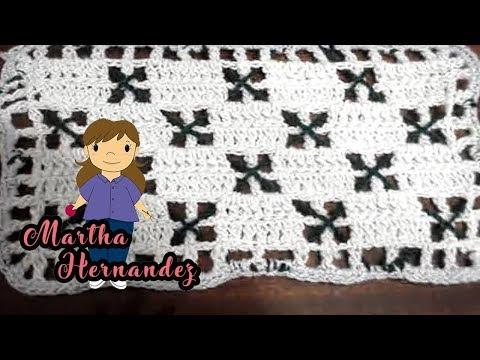 Cobija o Colcha para Bebe  en Crochet Yolis