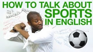 How to talk about sports in English