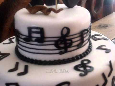 How To Make A Violin Cake