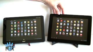 Acer Iconia Tab A510 vs Asus Eee Pad Transformer Prime Comparison