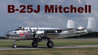 B-25J Mitchell, The Flying Bulls, Pardubice Airshow, 2018