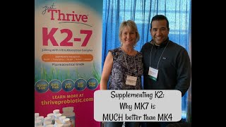 Supplementing Vitamin K2:  Why you MUST take MK7 (not MK4)