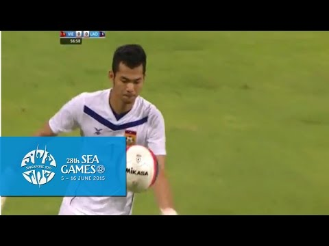 Football Vietnam vs Laos 4 Jun Full Match Highlights | 28th SEA Games Singapore 2015