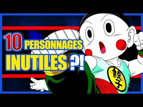 LES 10 PERSONNAGES LES PLUS INUTILES DE DRAGON BALL ? - DBTIMES #08