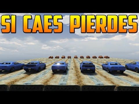 SI CAES PIERDES - Gameplay GTA 5 Online Funny Moments (GTA V Xbox ONE)