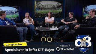 08 Fotboll derbyspecial inför Djurgården - Hammarby