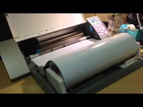 Silhouette Cameo- New Roll Feeder