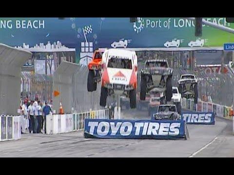 2014 Stadium SUPER Trucks Long Beach BIG AIR