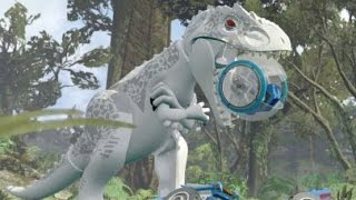 LEGO Jurassic World Walkthrough Part 17: Gyrosphere Escape (Jurassic World)
