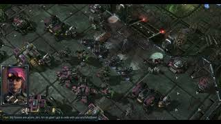 StarCraft II: Wings of Liberty Campaign Mission 18 - Cutthroat