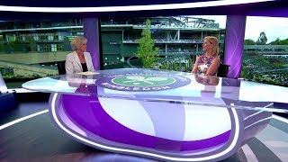 Chris Evert & Sue Barker studio chat - Wimbledon 2017