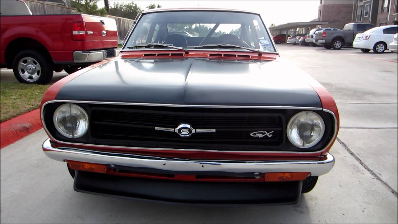 Datsun 1200 Coupe - YouTube