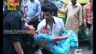 On Location Of TV Serial 'Ek Duje Ke Vaaste'- Suman Meets With Accident Part- 3