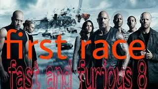 Fast and furious 8 fast race part 1 hindi