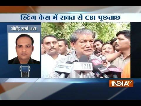 CBI questions CM Harish Rawat over sting case