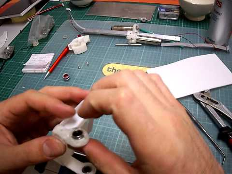 How to build a compliant humanoid robot – Elbow pin guide