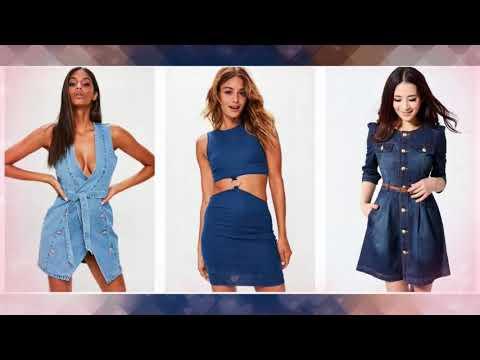 Top Stylis Denim Dress For Women