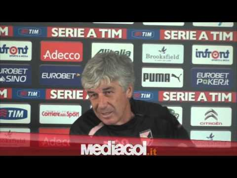 (2/2)Gian Piero Gasperini in conferenza stampa vigilia Sampdoria - Mediagol.it
