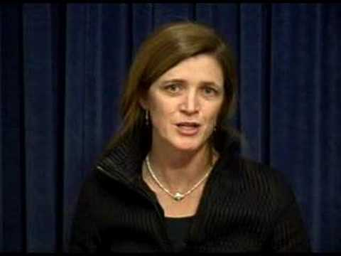 Samantha Power on Obama and Armenian American Issues