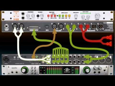 D-Box and UA Apollo Setup - Dangerous Music