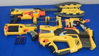 Box of Toys Toy Guns NERF Guns NERF N Strike Toy Weapons