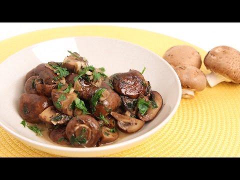Parmesan Sauteed Mushroom Recipe - Laura Vitale - Laura in the Kitchen Episode 842