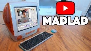 EDITING A YOUTUBE VIDEO ON AN iMAC G3