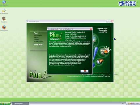Windows XP Professional Service Pack 2 with PLUS XP! IN Virtual PC 2007