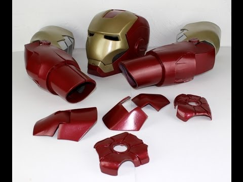 XRobots - Iron Man Cosplay Hand Armour Part 6, for my life sized costume suit