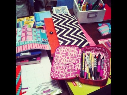 School Supplies Haul 2012!