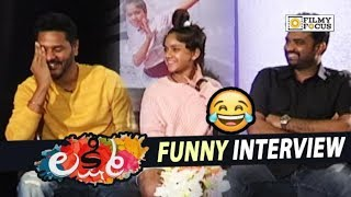 Lakshmi Movie Team Funny Interview || Prabhu Deva, Ditya Bhande, AL Vijay