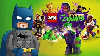 Lego DC Super Villians Trailer + NEW Open World Screenshots (LEGO NEWS)