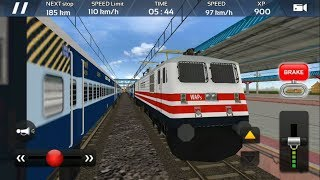 Indian Train Simulator 2018 - Free Android GamePlay | Express Train Driving Game - Engine WAP 4