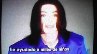 Michael Jackson Declaración de acusaciones en el juicio del 2005 (EN ESPAÑOL)