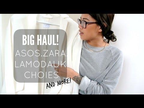 PART 1 | Big haul! ASOS, ZARA, LAMODAUK+more  | IDRESSMYSELFF