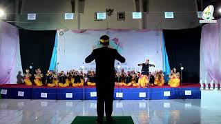 USCF (UINSA STUDENT CHOIR FESTIVAL)  2018 -  Gita Widya Giri UPN Jatim - Juara 3 lomba Paduan Suara