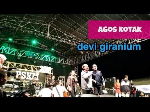Download AGOS KOTAK DAN DEVI GIRANIUM bohoso moto di panggung pskm  IAIN tulungagung Mp4 baru