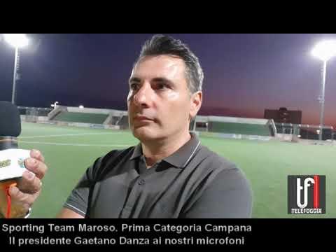 Sporting Team Maroso. Intervista al presidente Gaetano Danza che presenta il suo progetto