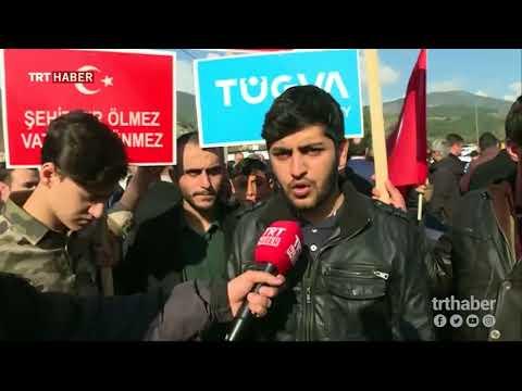 Yurt genelinde Zeytin Dalı Harekatı'na büyük destek veriyor