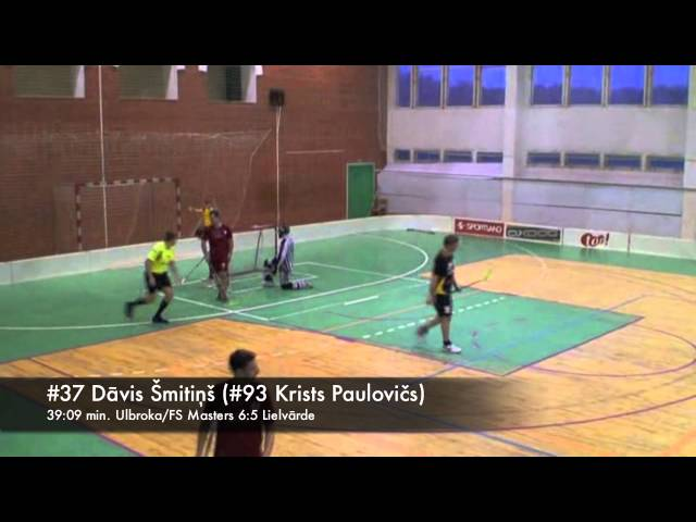 Ulbroka/FS Masters - Lielvārde 11/11/2012 highlights