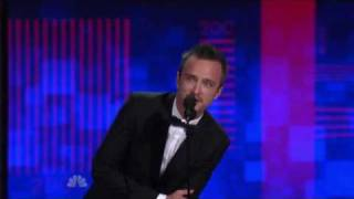 Aaron Paul's 1st Emmy Win (2010)