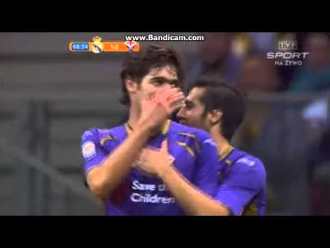 Alonso Great Goal ~ Real Madrid vs Fiorentina 1-2 Friendly Match 2014