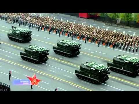 Парад Победы 9 мая 2012 года на Красной площади в Москве