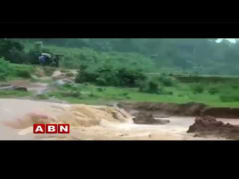 Heavy Rains in Visakhapatnam Agency Areas | ABN Telugu