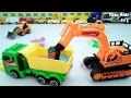 ToysTruck dan Playsand I Mainan Anak Pasir ajaib,