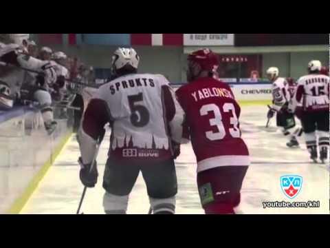 Витязь - Динамо Рига 1:7 / Vityaz - Dinamo Riga 1:7