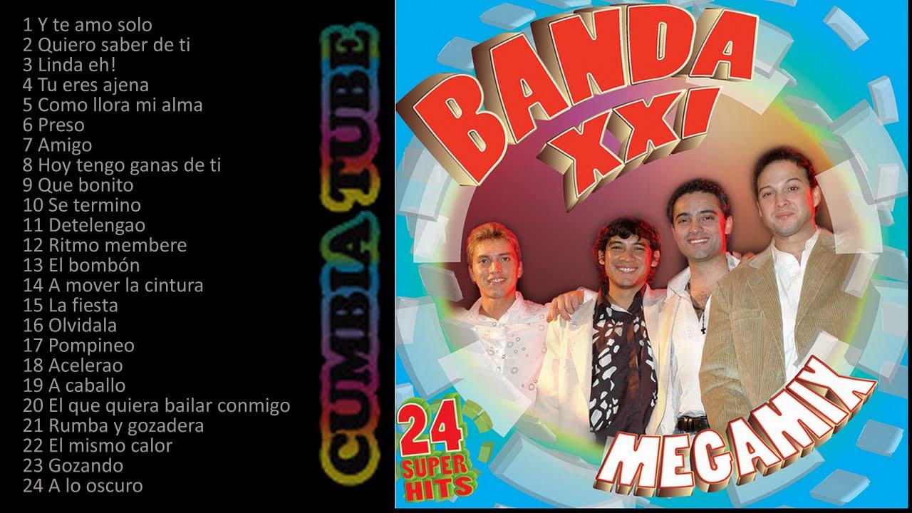 Banda XXI - Megamix Enganchados de Cuarteto, Mambo y