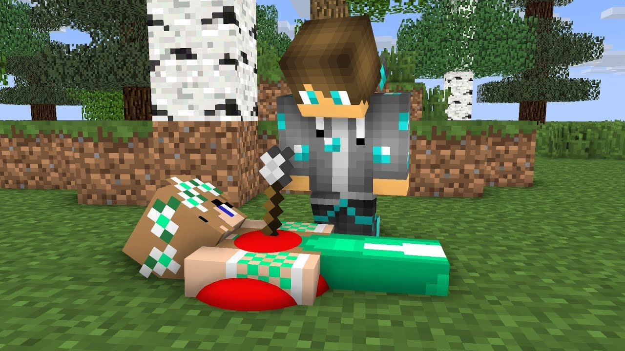 Sad life man 2 - Zoozoo Minecraft anamations